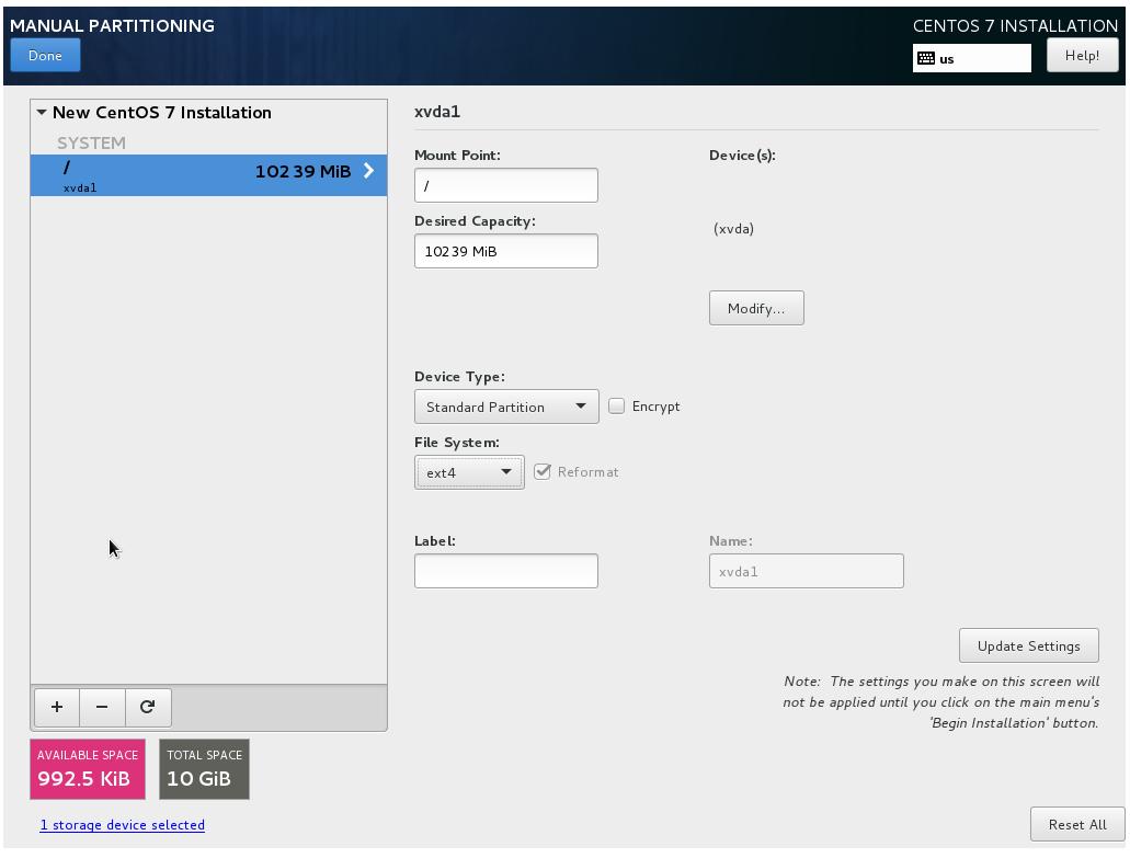 CentOS cloud template for XenServer